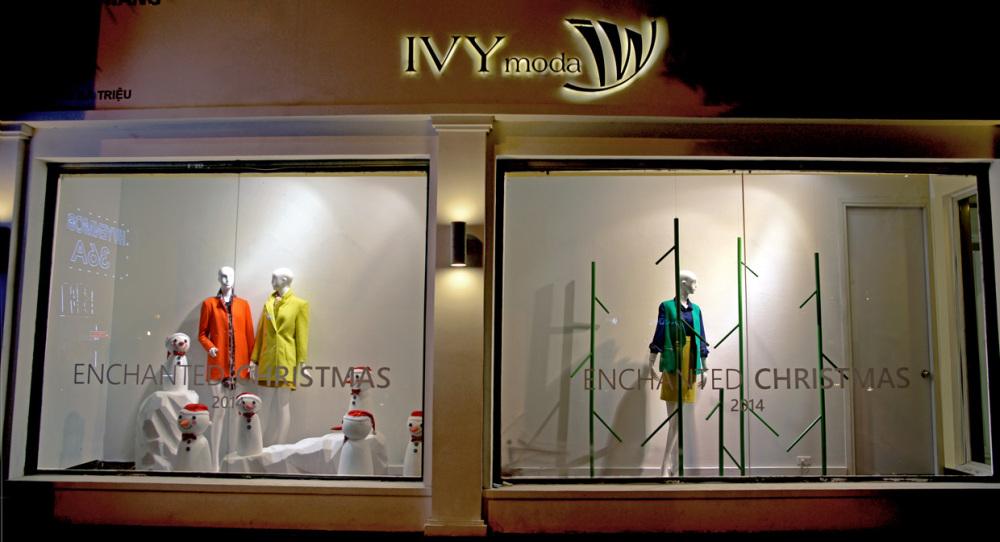 IVY MODA Christmas Window Displays 2014 by PhamQuangDuc Architecture Interior