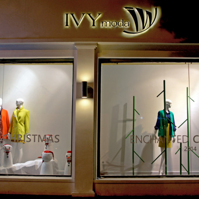 IVY MODA Enchanted Christmas Window Displays 2014