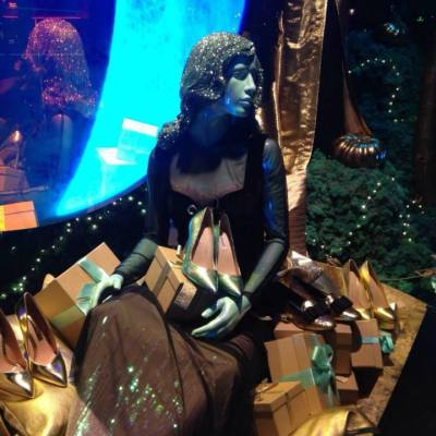 Selfridges Enchanted Destination Christmas Window Display 2014