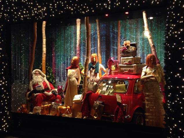 Selfridges Destination Christmas Window Display