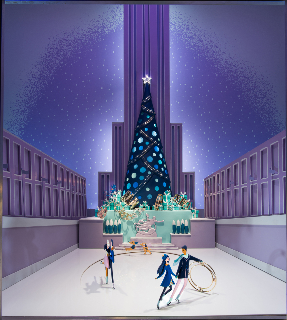 Tiffany Co Magical Holiday In New York Window