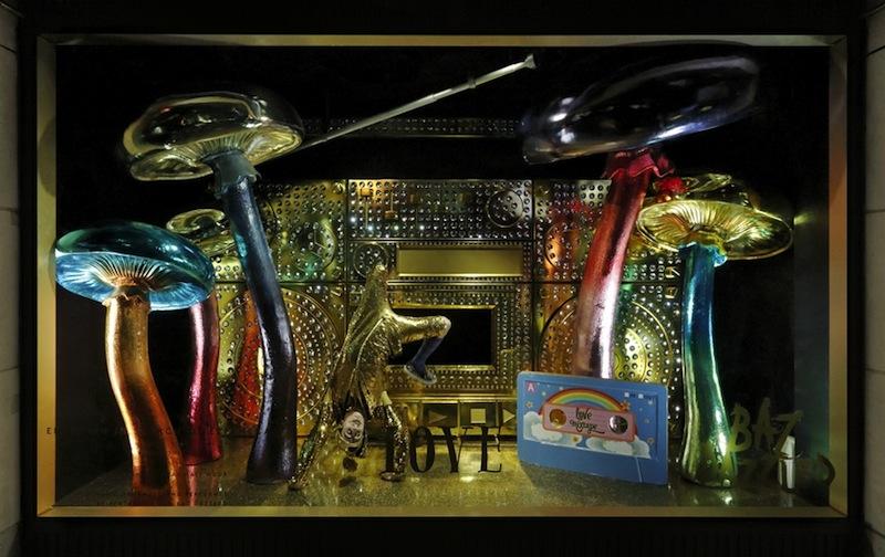 Barneys New York 'BAZ DAZZLED' Holiday Windows 2014