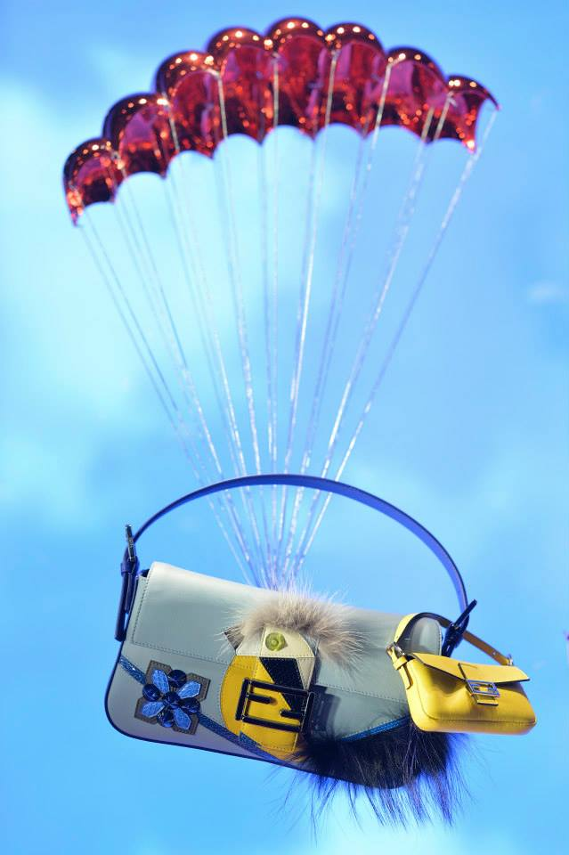 FENDI Boutique 'Parachute Theme' Window Displays