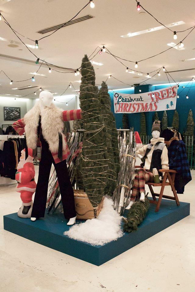 Holt Renfrew 'Nothern Lights' Holiday Window Displays 2014