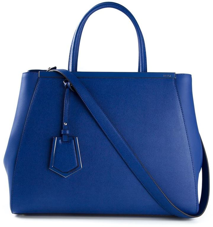 FENDI Blue Medium 2 days Handbag