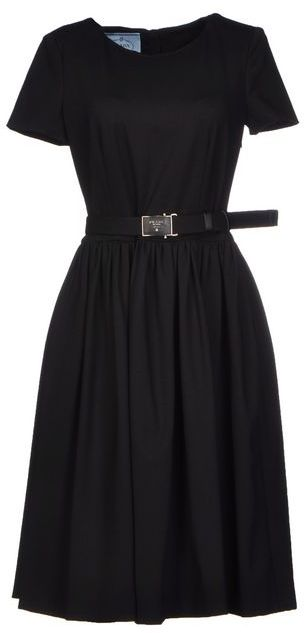PRADA Black Length Dress