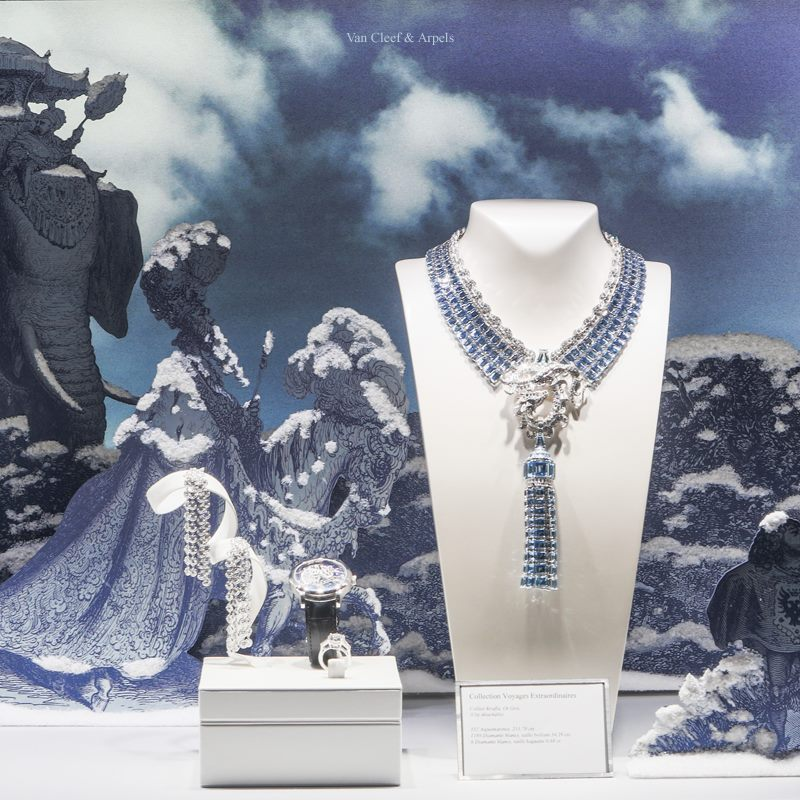 Van Cleef & Arpels 'Fairy Tale' Holiday Windows 2014