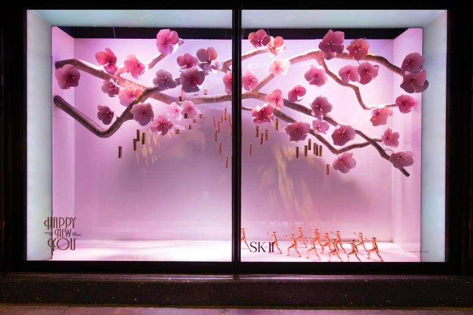 Harrods 'Happy New You' Window Displays 2015