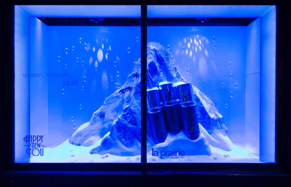Harrods 'Happy New You' Window Displays 2015