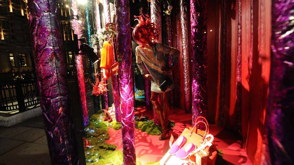 Harvey Nichols 'The Enchanted Forest' Christmas Window Displays 2014