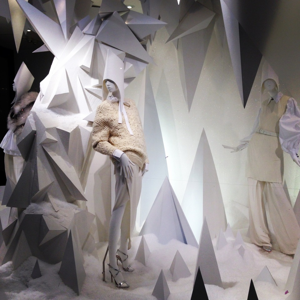 JOSEPH 'Winter Wonderland' Holiday Window Displays by Harlequin Design