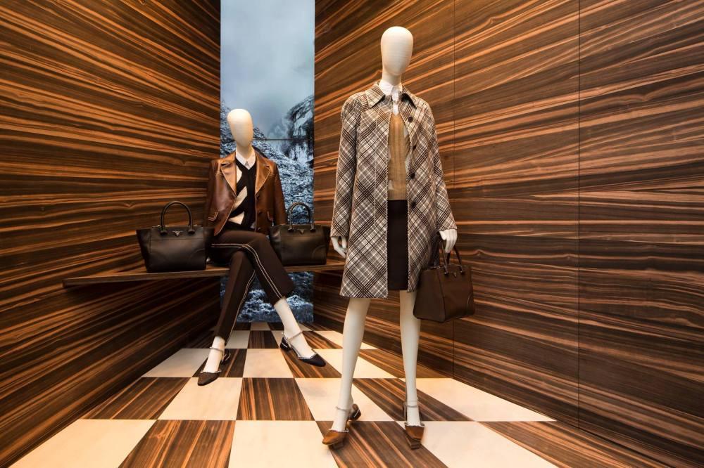 Martino Gamper for PRADA 'Corners' Window Displays 2015