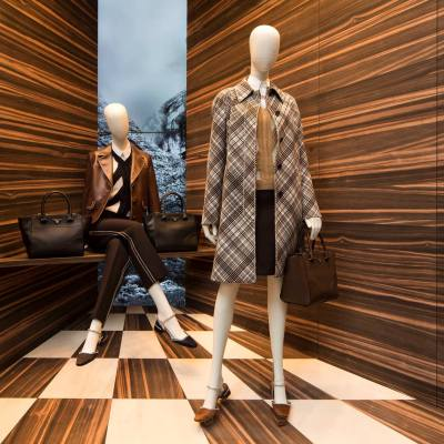 Martino Gamper for PRADA 'Corners' Window Displays 2015
