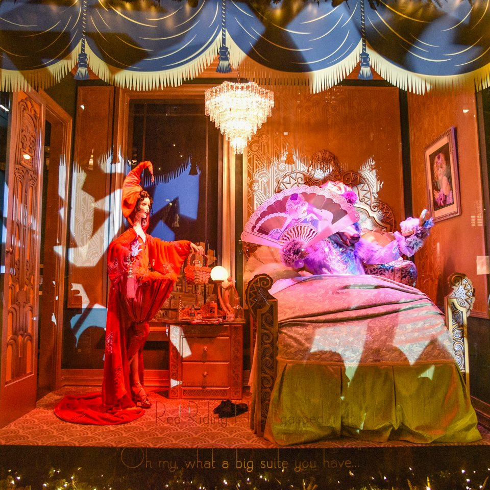 Saks Fifth Avenue 'An Enchanted Experience' Holiday Window Displays 2014